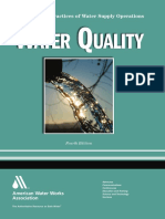 Water Quality (4th Edition)_principles and Practices of Water Supply Operations Series