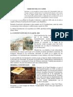 El Derecho Constitucional en Ecuador Evoluciona a Partir de 1830