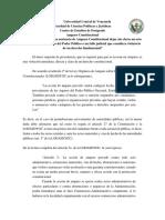 Paper Nº 11 Puede Una Sentencia de Amparo Constitucional Dejar Sin Efecto Un Acto Administrativo
