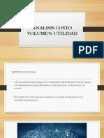 COSTOS-VOLUMEN-UTILIDAD