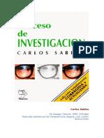 EL PROCESO DE INVESTIGACIÓN CARLOS SABINO.doc