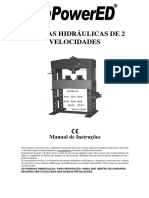 Manual Prensa Hidraulica PowerEd