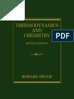Thermodynamics by Howard Devoe