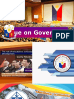 Issue on Governance