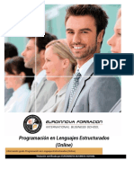 Programacion en Lenguajes Estructurados Online