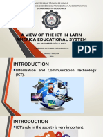 A view of ICT in Latin American Educational System