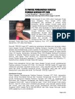 KORUPSI PROYEK PEMBANGUNAN FASILITAS PAMERAN KAWASAN NTT FAIR