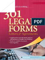 301 Legal Forms Letters and Agreements Sample Chapter4439