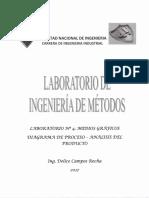 Medios Graficos Diagrama de Proceso Analisis Del Producto