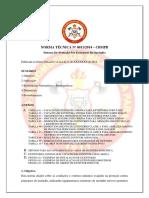 NT CBMPB Nº 0011 2014 Extintores de Incêndio 1