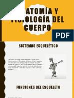Anatomía y Fisiología Del Cuerpo