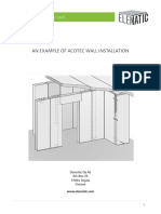 Installation AcotecWallPanels