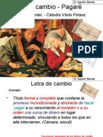 TITULOS de CREDITO 2da Parte - Letra de Cambio y Pagaré