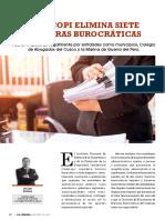 ELIMINAR BARRERAS BUROCRATICAS