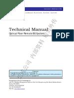 McWiLL Optical Fiber Remote BS System Technical Manual V1.00£¨¼ÓË®Ó¡£©