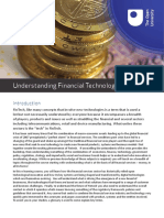 Understanding Financial Technologies Final