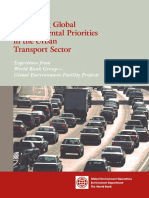 WB Sustainable Transport Report 2
