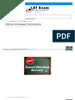 Letqa Blogspot Com 2018-01-2018 Gen Ed Reviewer Earth Scienc