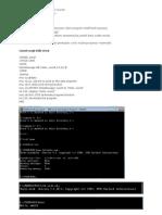 hello word dengan program assembly