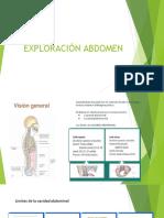 Exploración de Abdomen y Región Inguinal