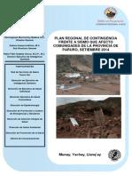plan de contingencia contra sismos