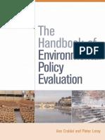 Handbook of Environmental Polic - Gary