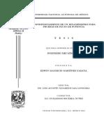 Tesis de Dinamoemtro de Corrientes Parásitas