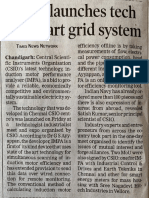 CSIO Launches Tech for Smart Grid System