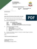 Surat Panggilan Mesyuarat Pengurusan Sekolah