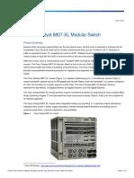 Catalyst 6807_XL Data Sheet