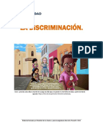La Discriminacion, parte I.