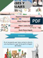 Presentación de Envases y Embalaje
