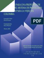 ELEMENTOS PARA UNA PROPUESTA DE REFORMA DEL SISTEMA DE PROTECCIÓN ECONÓMICA PARA LA VEJEZ EN COLOMBIA