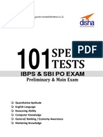 101 Speed Tests for IBPS & SBI Bank PO Exam 4th Edition_nodrm - Copy