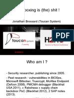 Jonathan Brossard - H2HC 2013