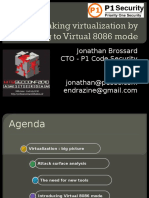 Jonathan Brossard - Breaking Virtualization 8088 Mode - HITB 2011