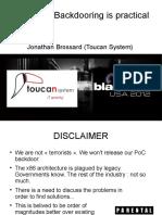 Moabi - Hardware Backdooring is Practical - Blackhat 2012