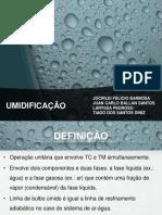UMIDIFICAÇÃO - EX3