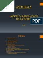 CAP.  X .- Modelo Sismologico Tierra.pptx
