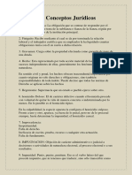 3. Glosario de Conceptos Jurídicos