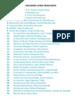 Os 100 Melhores Livros Brasileiros