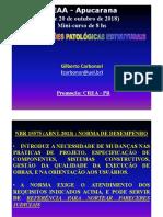 Patologias Estruturais