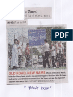 Manila Times, July 15, 2019, Old Road New Name.pdf