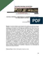 Carlos Henrique Ferreira Leite-História e Imprensa-A Importância e a Contribuição dos Jornais no Conhecimento Histórico