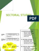 Sectoral Studies