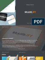 Catálago de Servicios Brandify C