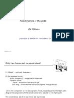 Aerodynamics of Glide