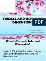 FORMAL AND INFORMAL DIMENSIONS LLOREN.pptx