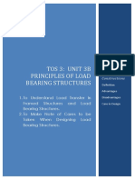 TOS 3 Unit 3b Principles of Load Bearing Structures-1