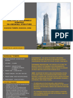 Shanghai Towers- Sustainability Strategy